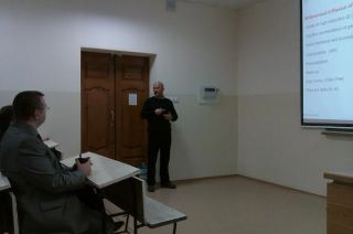 Michele Campagna visit at Institute of Cybernetics, Tomsk Polytechnic University