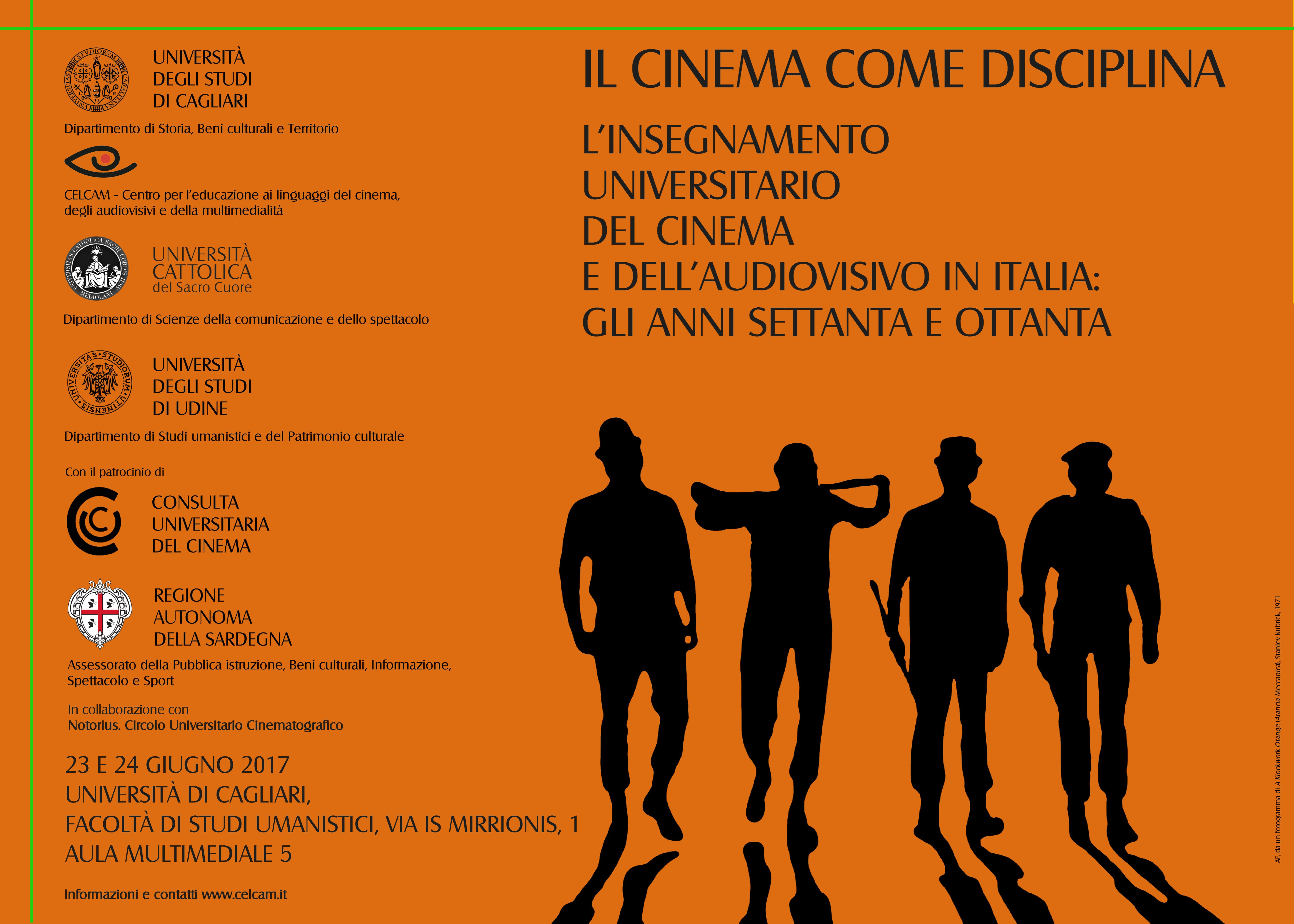 IL CINEMA COME DISCIPLINA
