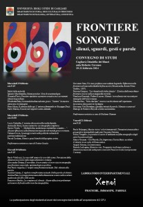 poster frontiere sonore locandina A2
