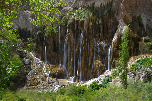 Mrgun waterfall, 120 km of Shiraz by Mansour Ahmadi