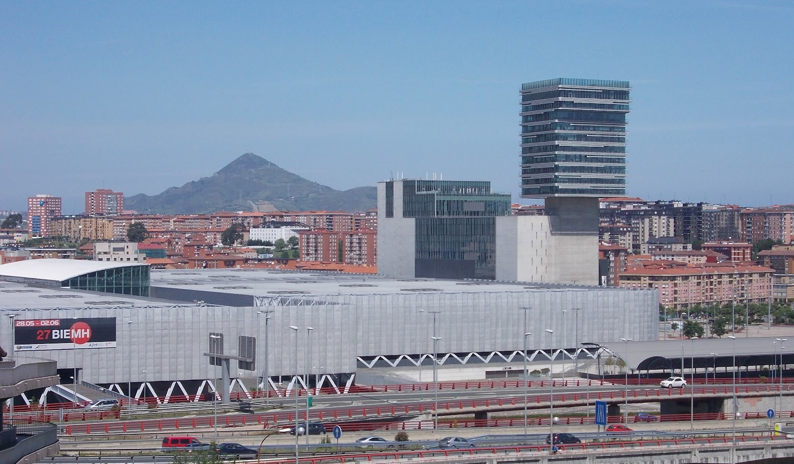 Exhibition center, Bilbao by Sara Monasterio